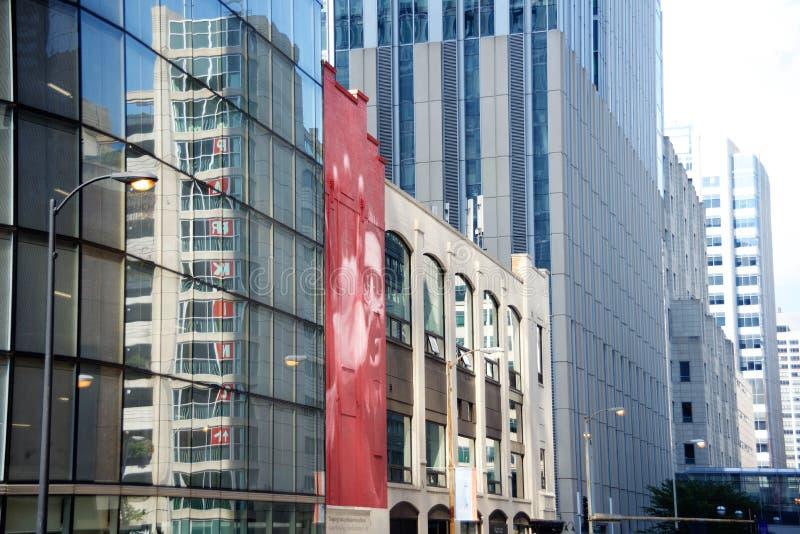 沙茨大厦,芝加哥,伊利诺伊 库存照片