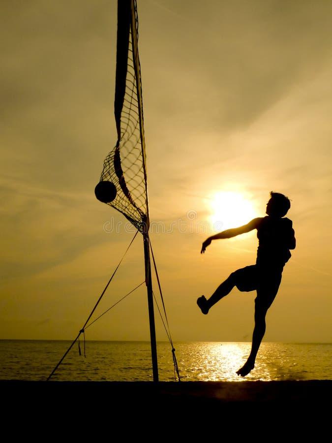 Download 沙滩排球球员剪影 库存照片. 图片 包括有 剪影, 净额, 符合, 女演员, 沙子, 现场, 火箭筒, 上涨 - 30335708