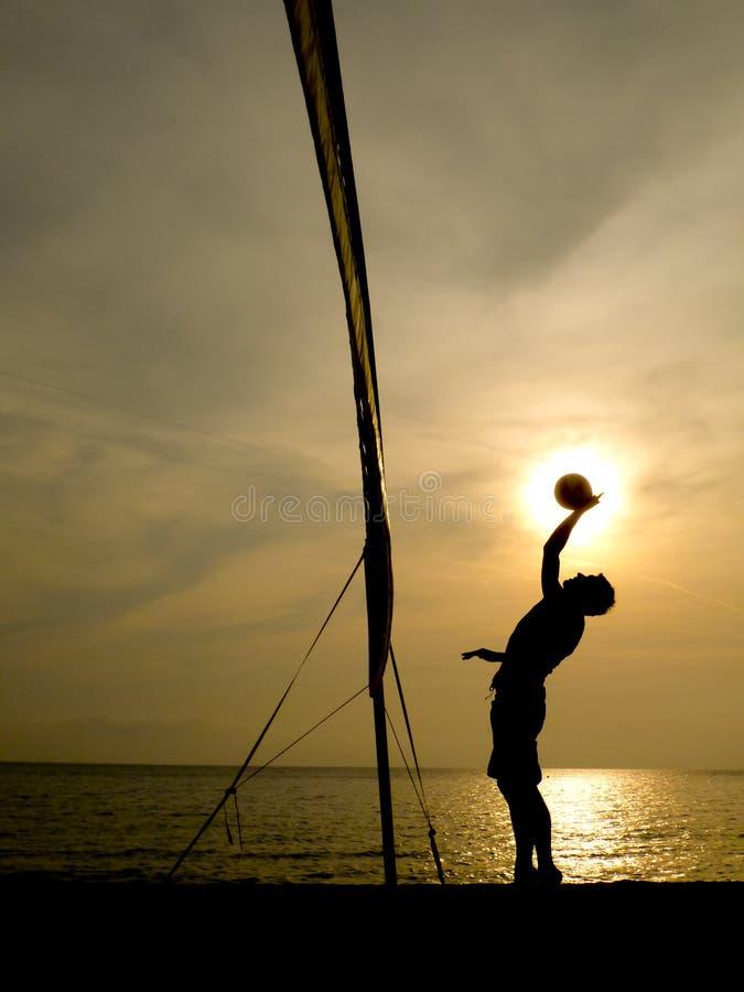 Download 沙滩排球球员剪影 库存图片. 图片 包括有 体育运动, 能源, 作用, 沙子, 封锁, 剪影, 海运, 有效地 - 30335733