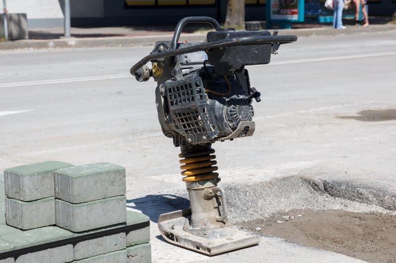 沟槽拨弹机 免版税库存照片