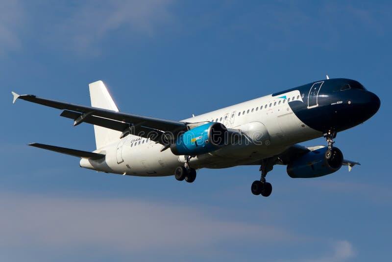 没有权利的空中客车A320 免版税图库摄影
