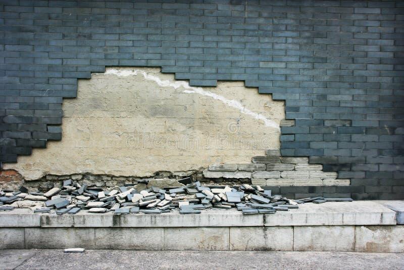 没有构成- Hutong美化,北京 免版税图库摄影