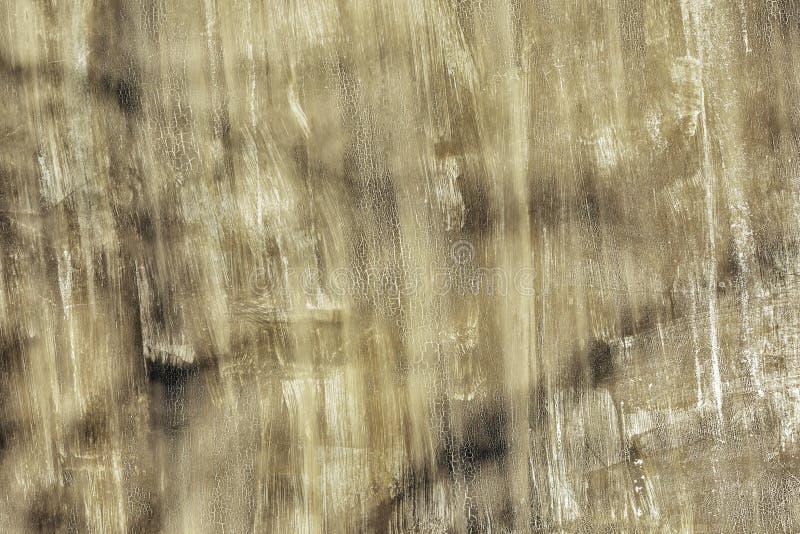 没有漆的区域、抓痕和污点 老墙壁参差不齐地绘与肮脏的绿色油漆 与纹理的照片 库存照片