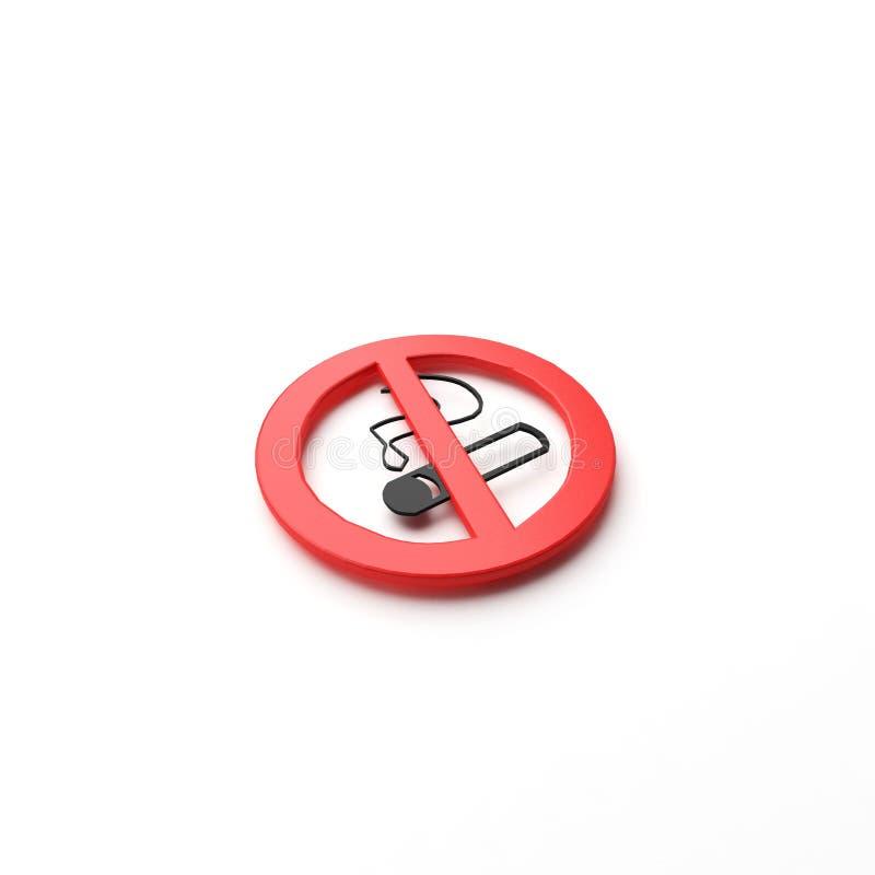 没有烟 免版税库存图片