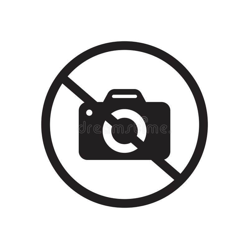 没有照片标志象  向量例证