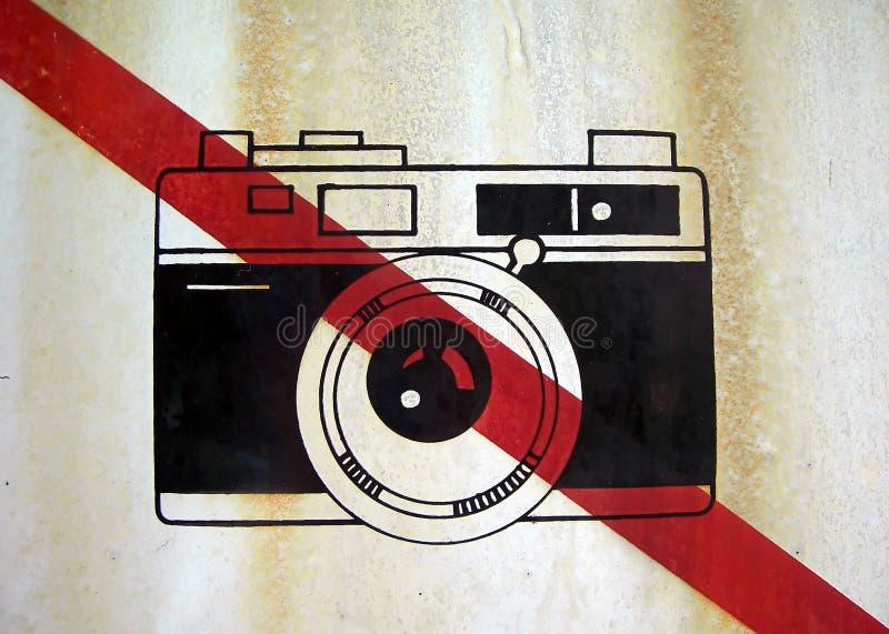 没有照片符号 免版税图库摄影