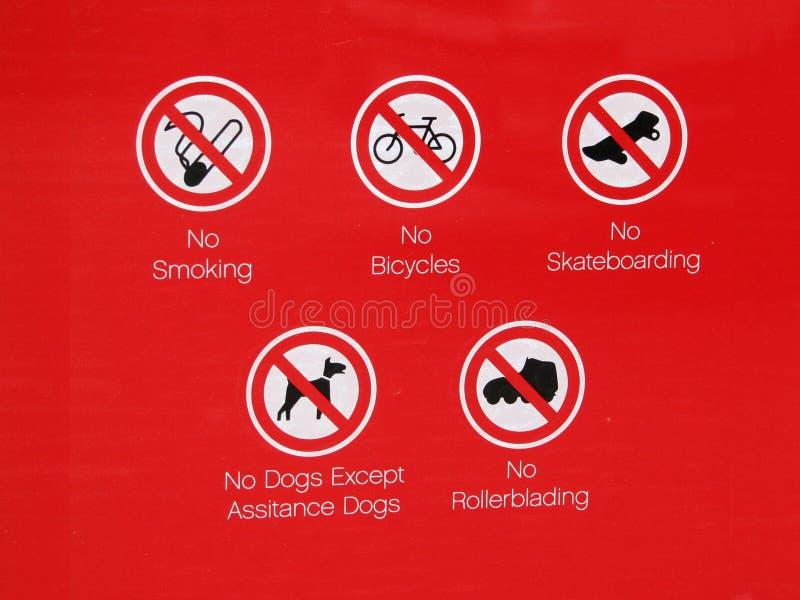没有符号溜冰板运动 库存图片