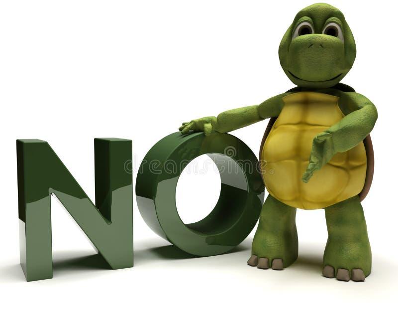 没有符号草龟 向量例证