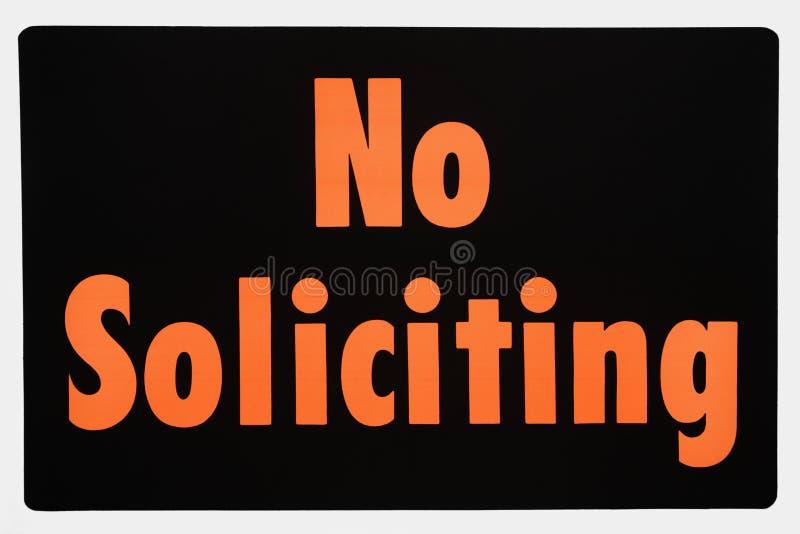 没有符号请求 免版税图库摄影