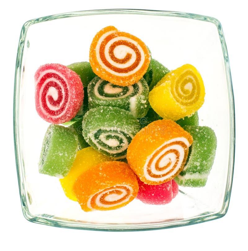 没有糖的糖尿病橘子果酱 免版税库存照片