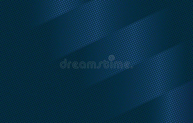 没有蓝色抽象的背景 2变形 皇族释放例证