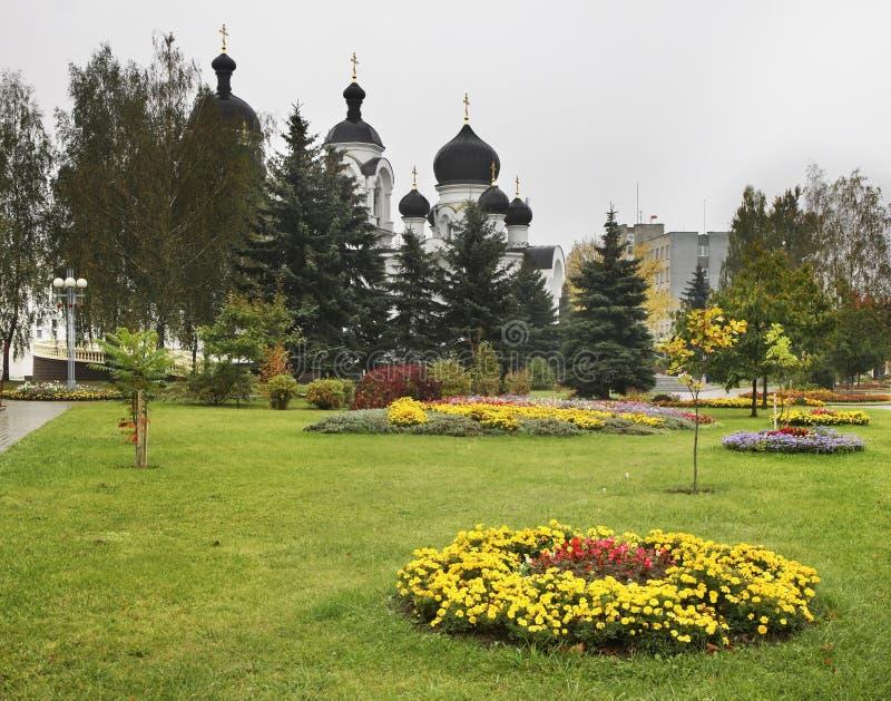 没药持票人的教会在巴拉诺维奇 迟来的 免版税库存图片