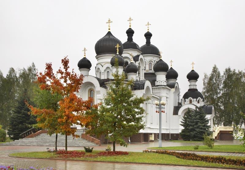没药持票人的教会在巴拉诺维奇 迟来的 库存照片