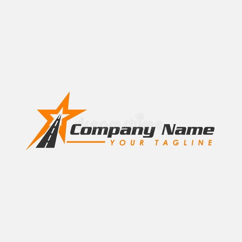 沥青商标-传染媒介商标概念例证 星条旗导航商标, EPS 8, EPS 10 皇族释放例证