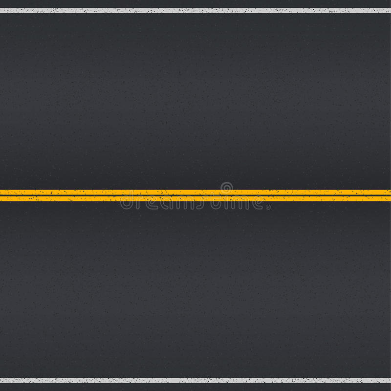 沥青详细形成路正方形人员结构 向量例证