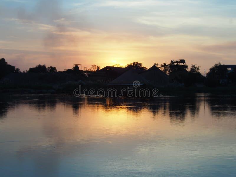 河乡下在泰国 免版税库存照片
