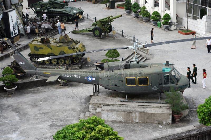 河内博物馆战争 免版税库存照片