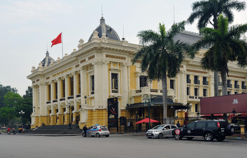河内歌剧院 库存图片