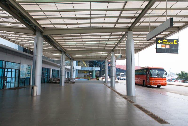 河内,越南NOIBAI AIRPOR 库存图片