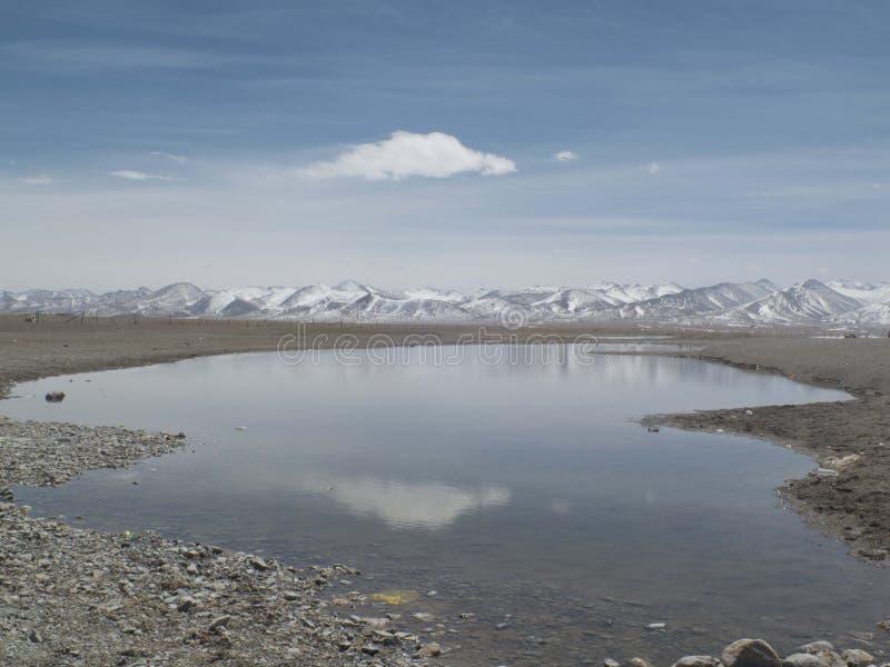 河和阴影 免版税图库摄影