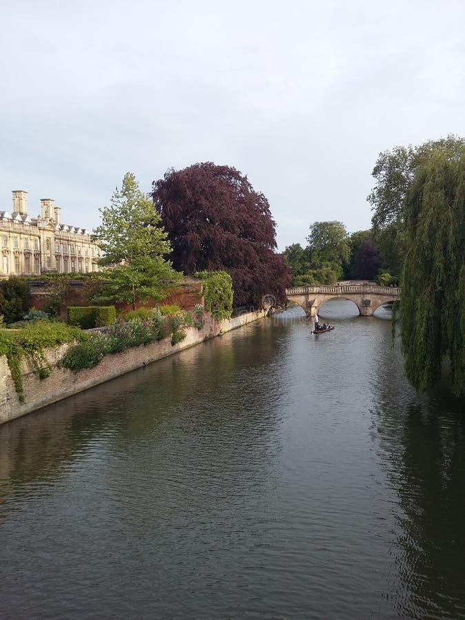 河在剑桥 库存图片