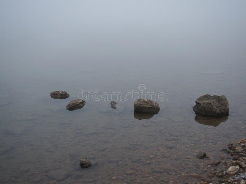 河多瑙河在冬天 图库摄影
