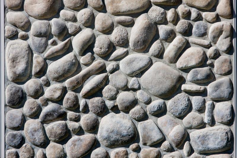 河岩石墙壁 库存照片