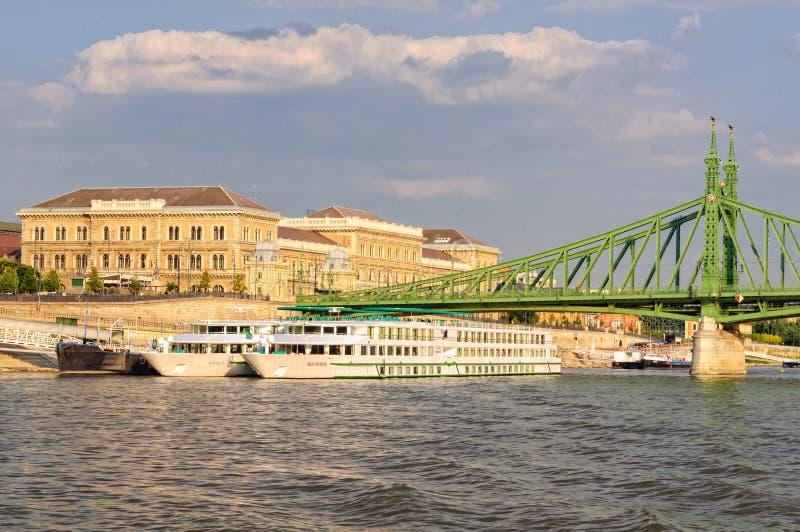 河巡航-布达佩斯 免版税库存图片