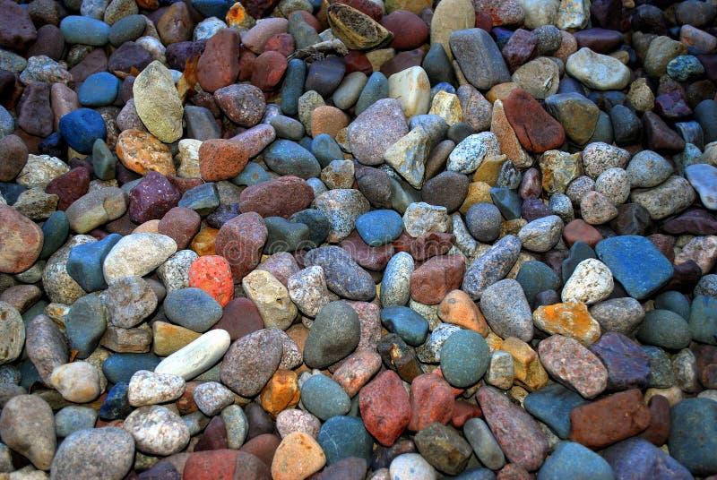 河床岩石 免版税库存图片