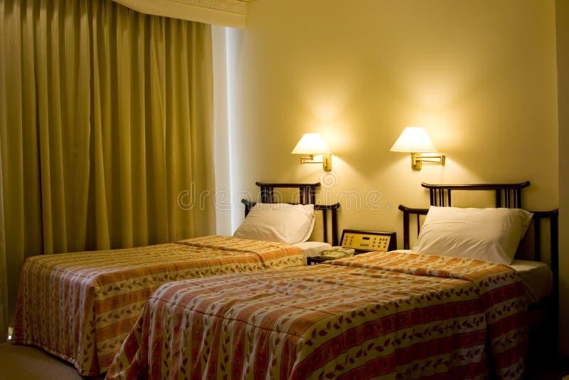 河床旅馆客房选拔二 库存照片