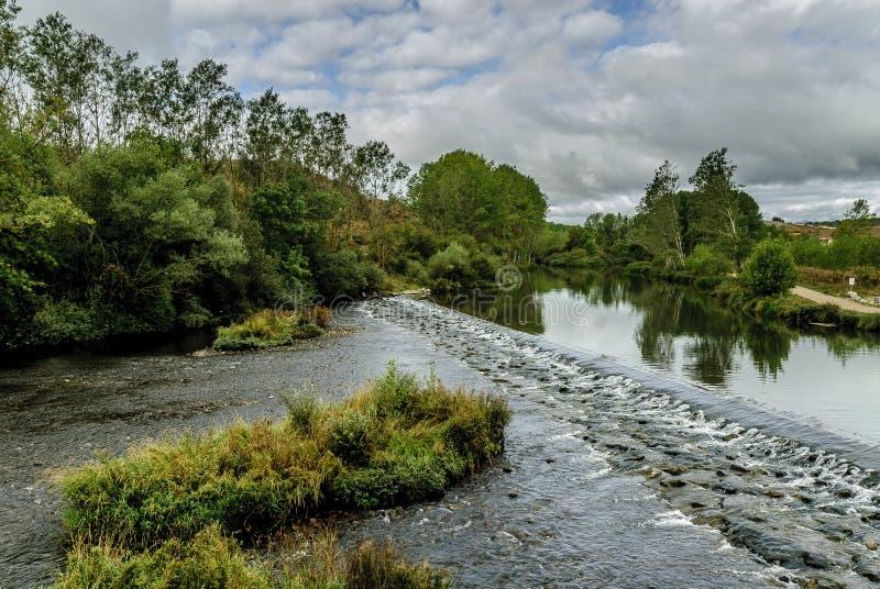 河横向 免版税图库摄影