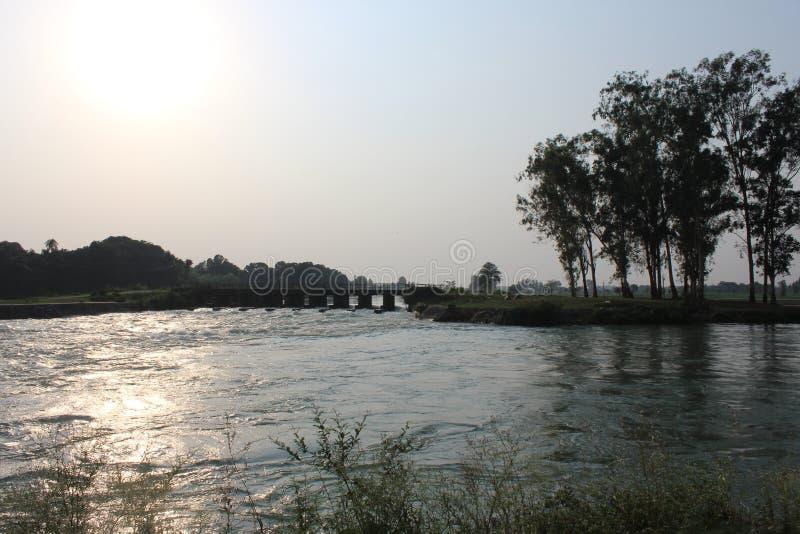 河沿 免版税库存照片