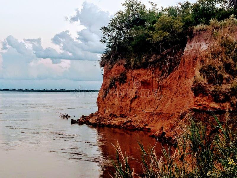 河海岸 免版税图库摄影