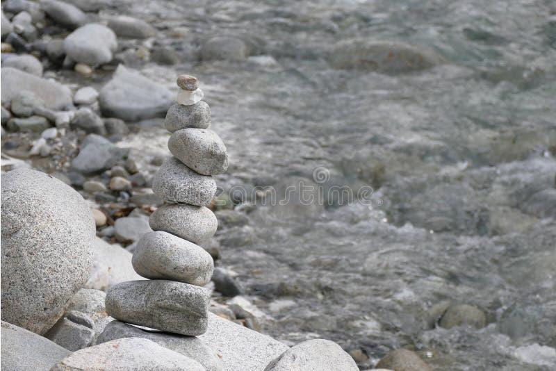 河石头金字塔  库存照片
