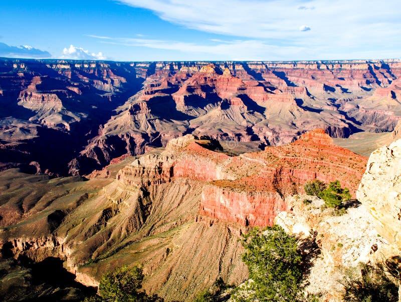 河科罗拉多,亚利桑那,美国大峡谷红色岩石  免版税库存照片