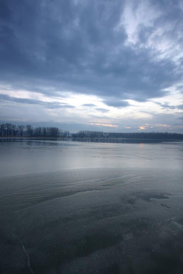 河风景 库存图片
