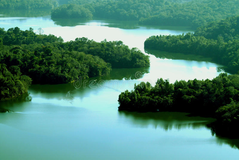 河 库存图片