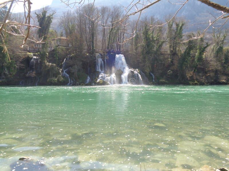 河Drina 图库摄影
