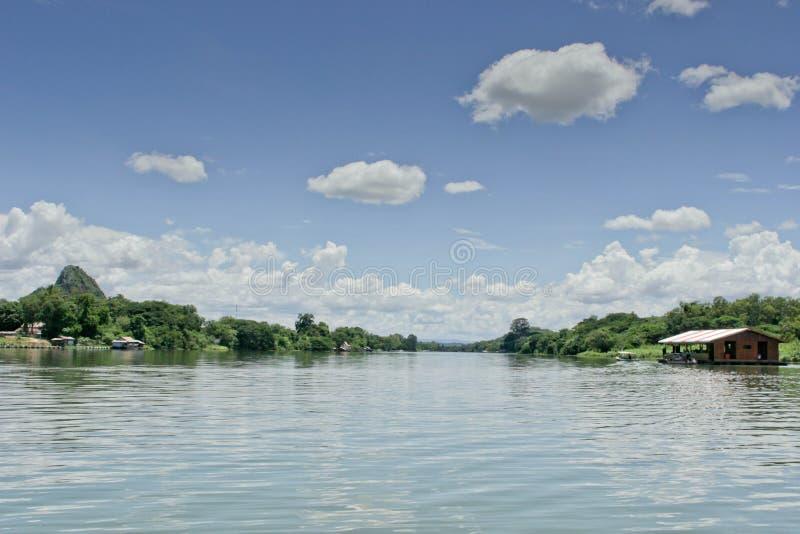 河Kwai 库存图片