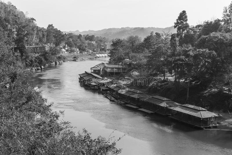河Kwai 图库摄影