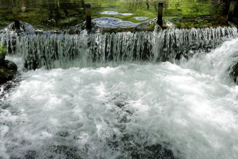 河Vrelo,河德里纳河的正确的附庸国 免版税库存照片