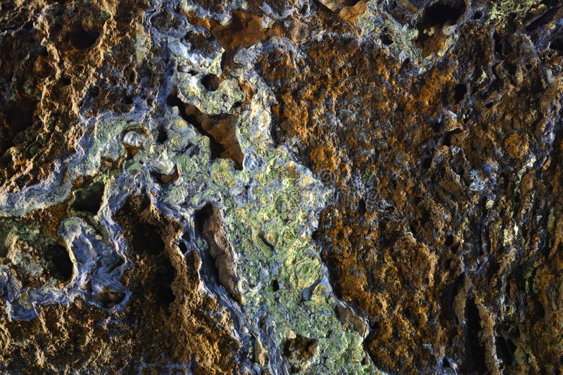 绿沸铜和石青背景 免版税库存图片