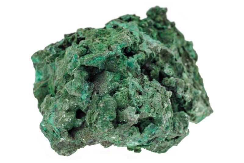 绿沸铜标本 免版税库存图片