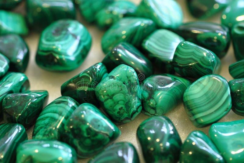 绿沸铜矿物纹理 免版税库存照片