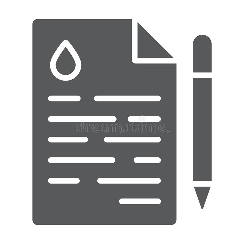油合同纵的沟纹象、成交和燃料,协议标志,向量图形,在白色背景的一个坚实样式 向量例证