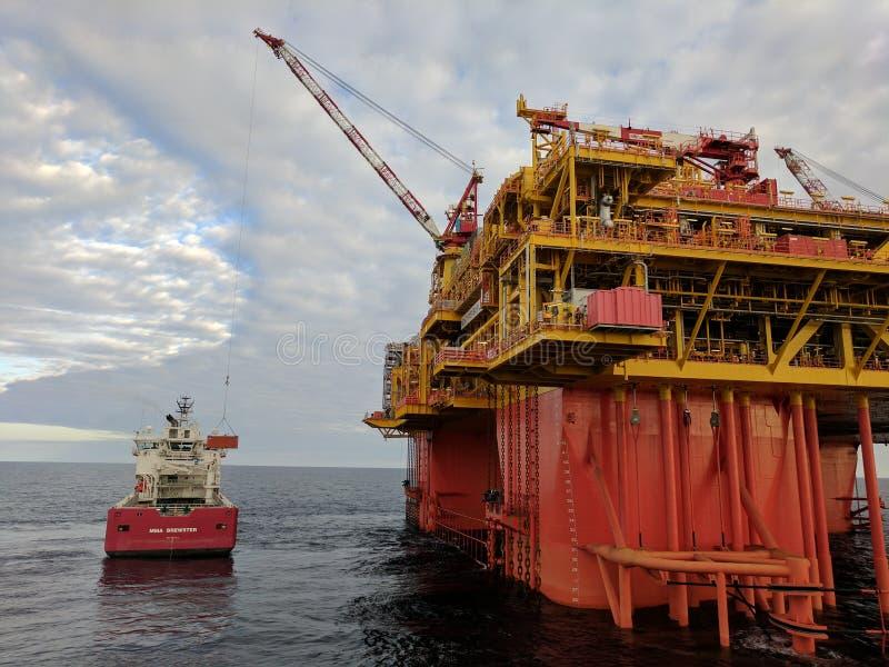 油和煤气 库存图片