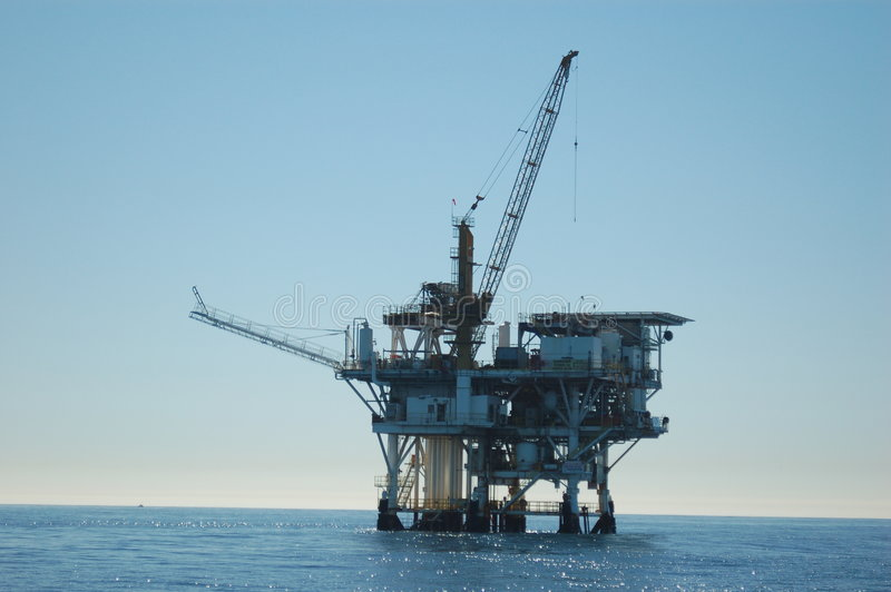 油太平洋船具 免版税库存图片