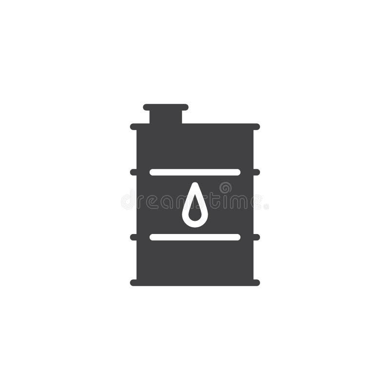 油桶传染媒介象 皇族释放例证