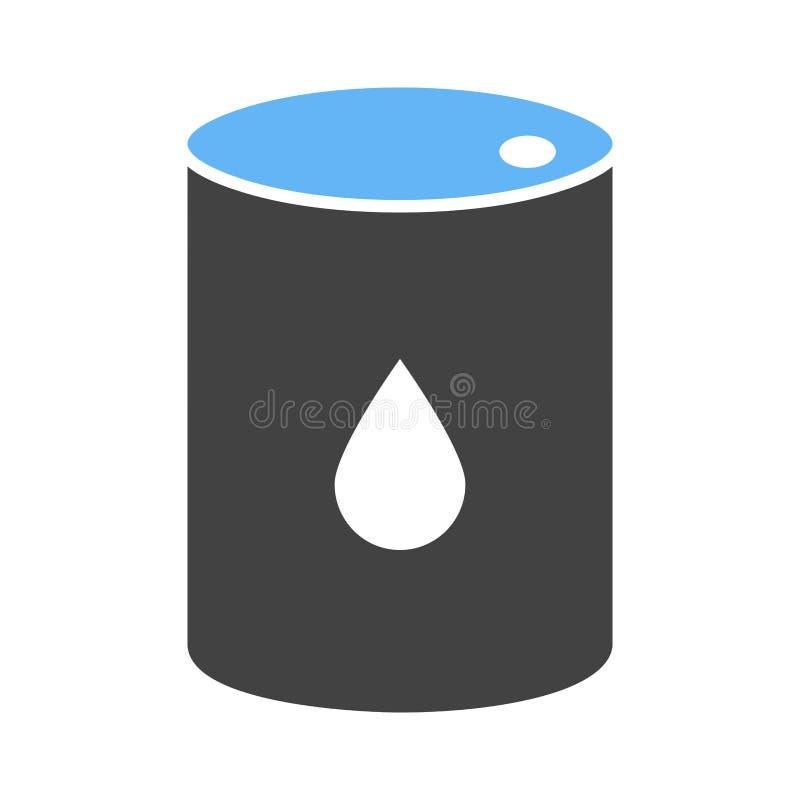 油桶象 库存例证