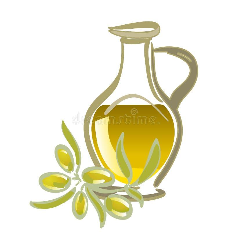 油橄榄 向量例证
